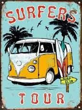 I try to do a surf related trend for every season including Autumn/Winter as there is always a demand for it. Honda Shadow, Vans Surf, Vintage Surfing, Surf Drawing, Surf Boy, Bus Art, Foto Transfer, Vw T1, Volkswagen Bus