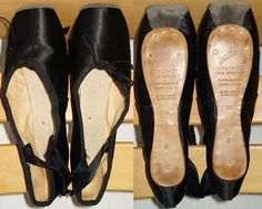 black pointe shoes...I'm small enough now. could i do it?