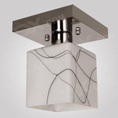 Color: White + Silver Grey + Multi-Colored; Color BIN: Warm White; Brand: Conca; Model: 1552; Quantity: 1 Set; Material: Stainless steel + glass; Power: Others,No; Rated Voltage: AC 220-240 V; Emitter Type: Others,No; Total Emitters: 0; Theoretical Lumens: No lumens; Actual Lumens: No lumens; Color Temperature: Others,No; Dimmable: no; Packing List: 1 x Lamp holder (22cm-cable)1 x Cover1 x English manual2 x Screws2 x Screw bolts; http://j.mp/1nb2xAq