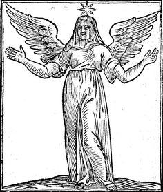 Alma racional y bendita, Iconología Cesare Ripa