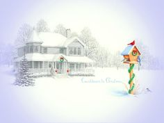 ~ There's no place like home for the holidays ...