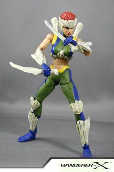 Marrow (Marvel Legends) Custom Action Figure X Men, Best Action Figures, Comic Room, Figurines D'action, Marvel Legends Series, Men Stuff, How To Make Comics, Figure Model, Female Characters