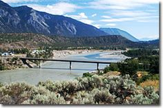 Lillooet BC, Fraser River, Gold Country, British Columbia, Canada