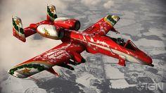 Festive A-10 Thunderbolt II