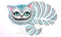 Bildresultat för small cheshire cat tattoos