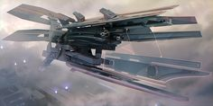 Futuristic Scifi Spaceship Designs