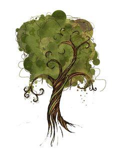 tree. by TheCharles.deviantart.com on @deviantART