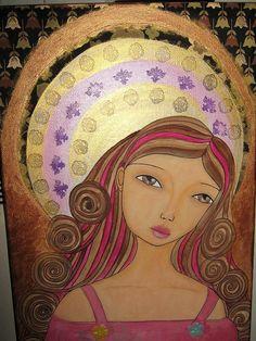 Angel Painting by Sung-Hee (Regina) Hong