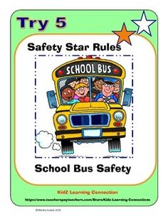school bus safety rules - Google Search | Busing | Pinterest ...