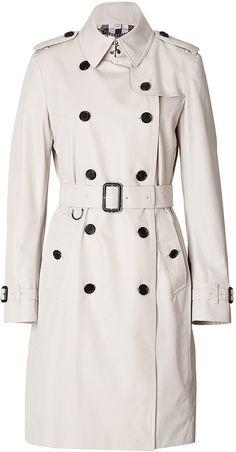 Classic green parka coat