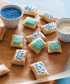 Get the recipe for these Cute Mini Pop Tarts from the new cookbook Tiny Food Party.