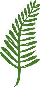 Silhouette Online Store - View Design #11199: fern frond