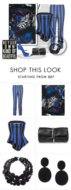 """Zebra Tones"" by leanne-mcclean ❤ liked on Polyvore featuring Carla Zampatti, Biba, 3.1 Phillip Lim, Monies, stripes and zebra"