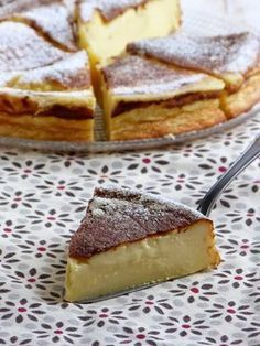 Millasson – Creamy specialty from the south west of France, right here with wheat flour, between flan and clafoutis, with orange blossom French Desserts, Köstliche Desserts, Delicious Desserts, Yummy Food, Sweet Recipes, Dog Food Recipes, Cake Recipes, Dessert Recipes, Cooking Recipes