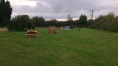Club night archery range, targets from 20 - 60 yards.