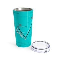 This stainless travel-size tumbler is vacuum-insulated and built to last. It's perfect for showing off your style on the road, at the office, or in the country-side.: 20 oz l).: See-thru plastic lid Potato Candy, Round Corner, Travel Size Products, Tumbler, Stainless Steel, Plastic, Country, Style, Swag