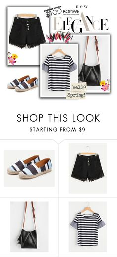 """""""Romwe 10/III"""" by hedija-okanovic ❤ liked on Polyvore featuring Clinique"""