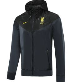 Liverpool 20/21 Black Hoodie Windbreaker – zorrojersey Black Hoodie, Liverpool, Nike Jacket, Windbreaker, 21st, Hoodies, Model, Jackets, Fashion