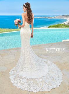 2016 Stylish Caribbean Destination Wedding Dresses | Bridal Gowns | KittyChen Couture - Alvina