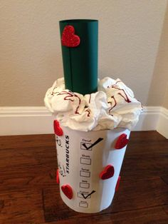 "Starbucks ""I Like You A Latte"" Valentines Box"