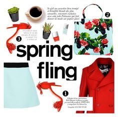 """""""Spring fling"""" by italist ❤ liked on Polyvore featuring Golden Goose, FAUSTO PUGLISI, MSGM, Steve Madden, Anja, Butter London, Christian Dior, women's clothing, women's fashion and women"""