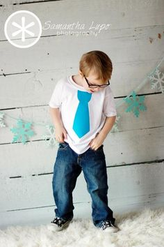 Aqua blue tie shirt by Fit For A Prince.