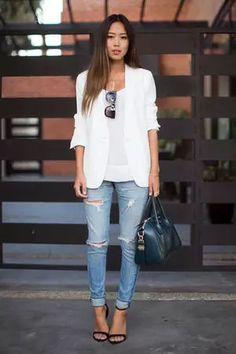 Like a crisp white button-up or your comfy black pumps, denim is timeless. The greatest thing about this hard-wearing fabric is that there are so many ways to wear it—from skinny jeans to midi skirts and even throwback overalls—and it always looks fresh. With the help of some seriously inspiring fashion bloggers, we found 8 new ways to wear denim this summer!