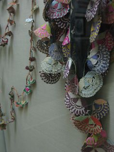 Turkish crochet garlands by miss tempel via Flickr