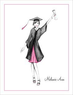 Graduation Celebration Thank You Cards by Bonnie Marcus Collection - Invitation Box Graduation Images, Nursing Graduation, Grown Up Parties, Nursing Assistant, Graduation Invitations, Invites, Graduation Celebration, Nurse Quotes, Continuing Education