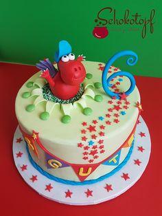 Der kleine Drache Kokosnuss und seine Geburtstagstorte