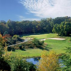Yale golf course: Voted #1 College Golf Course in America. Looks amazing! - The Redan Hole #13