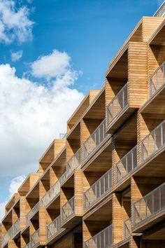 """Immeuble Less, Atelier d'architecture Vincent Parreira """"Ornementation contemporaine"""""""
