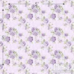 Photography Backdrop for Photographers Purple Floral Background – HSD Photography Backdrops