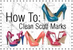 How to clean scuff marks