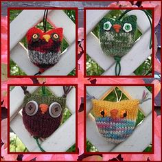 Ravelry: Project Gallery for Owl Puffs pattern by Jenna Krupar