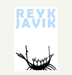 Reykjavik  Print  8x11 A4 size by illuminantpale on Etsy, $17.00