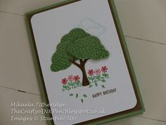 Sprinkles of Life and Build a Tree Punch. New Stampin' Up! Annual Catalogue 2015-2016. Mikaela Titheridge, Independent Stampin' Up! Demonstrator, The Crafty oINK Pen, Spaldwick, Cambridgeshire, UK Supplies available from thecraftyoinkpen.stampinup.net