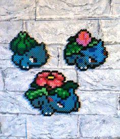 Wanddeko - Wandsticker, Pokemon, Bisasam, Bisaknosp, Bisaflor - ein Designerstück von Astrid-Zauberstuebchen bei DaWanda