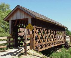 Covered Bridge. Sweet and simple.