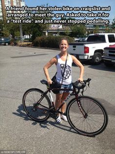 How to recover your stolen bike…