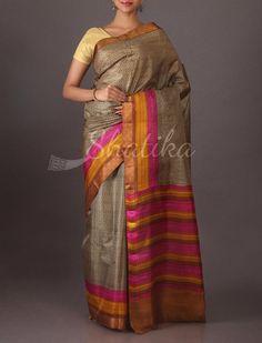 SriVidya Modern Design Printed #SilkSaree