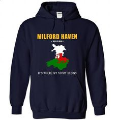 MILFORD HAVEN - Its where my story begins! - #victoria secret sweatshirt #sweater for teens. PURCHASE NOW => https://www.sunfrog.com/No-Category/MILFORD-HAVEN--Its-where-my-story-begins-2750-NavyBlue-50528112-Hoodie.html?68278