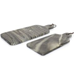 Strata Gray Marble Set // cutting boards