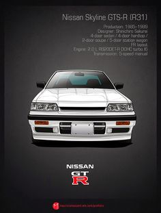 Todos los modelos del Nissan Skyline GT-R en Imágenes