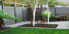 home fence ideas - Google Search