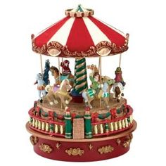 A small Carousel Music Box called the mini carnival carousel and the Mr Christmas Collection are available in our extra ordinare selection of musical boxes in our Music House Shop Christmas Carnival, Christmas Minis, Gold Christmas, Christmas Time, Christmas Stuff, Vintage Christmas, Carousel Musical, Box Maker, Disney Figurines