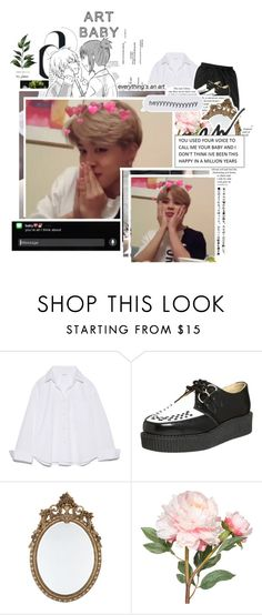 """""""Tag"""" by alienkitty218 ❤ liked on Polyvore featuring T.U.K. and OKA"""