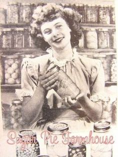 "I love this site. It is full of good, old fashioned homemaking wisdom. Detailed ""how to"" pictures also. I love the one on how to put up preserves."