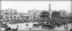 Fotos Antiguas de Chile Cerro Santa Lucia, Iglesia San Francisco, Paris Skyline, New York Skyline, Old Photos, Past, Dolores Park, History, Vintage