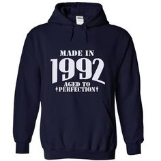 Made In 1992  Aged T... T-Shirts Hoodie